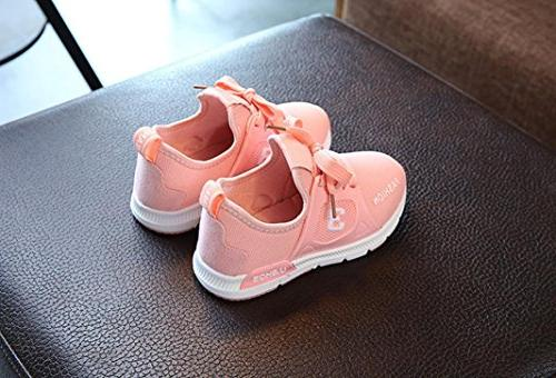 KONFA Baby Girls Shoes,for 0-6 years old,Soft Kids