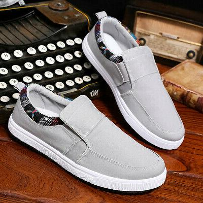 US Men's Loafers Breathable Shoes Slip on Sneakers
