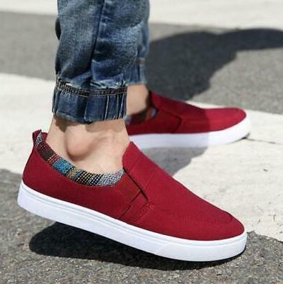 US Men's Casual Loafers Driving Shoes Sneakers