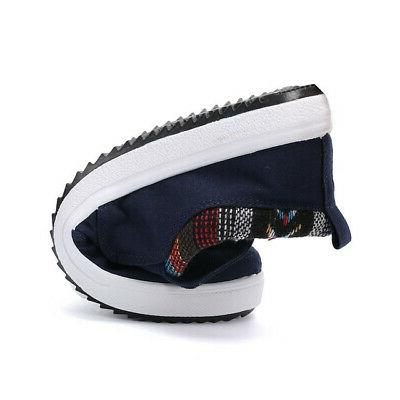US Men's Loafers Breathable Driving Boat Shoes on Sneakers