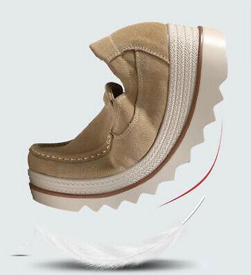 US Creepers Platform Slip Shake Shoes