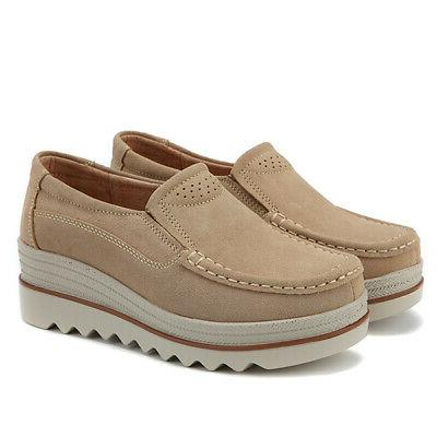 US Casual Creepers Shake Shoes