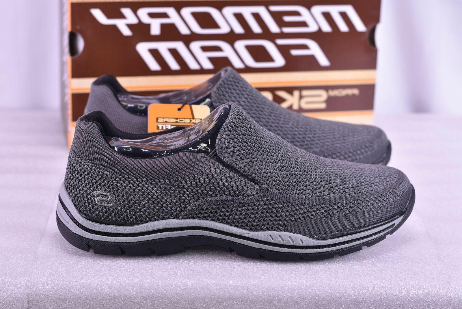 Skechers USA Men's Expected Gomel Slip-On Loafer 65086/GRY S
