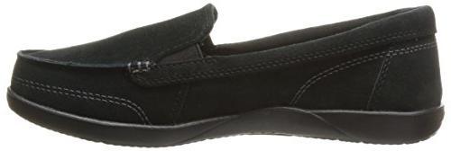 crocs Suede Loafer Black, 7 US