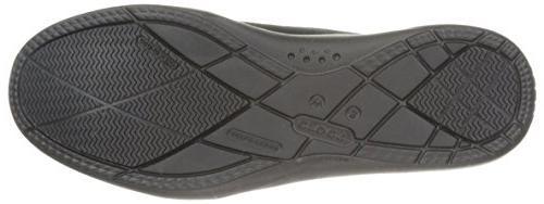 crocs Women's Suede Loafer Black, 7 M
