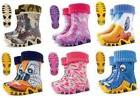DEMAR WELLINGTON BOOTS WITH FLEECE SOCK LINING / KIDS RAIN W
