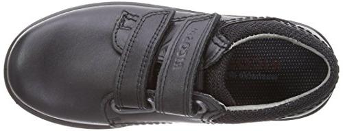 Ricosta Middle Fit, Boys' Loafers, Black , 1