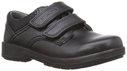 william middle fit boys loafers black schwarz