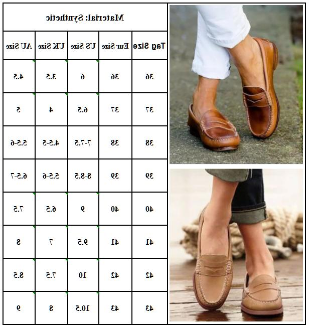 WOMEN LEATHER SHOES LOAFERS SLIP-ON COMFY CASUAL SHOES PUMPS
