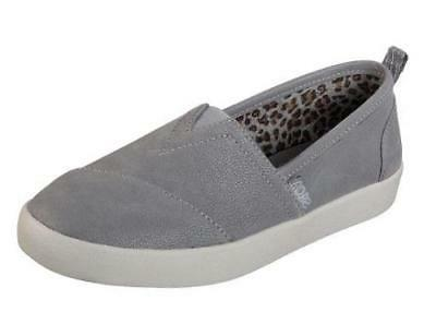 Women's BOBS BY SKECHERS B-LOVED Gray MEMORY FOAM Slip On Lo