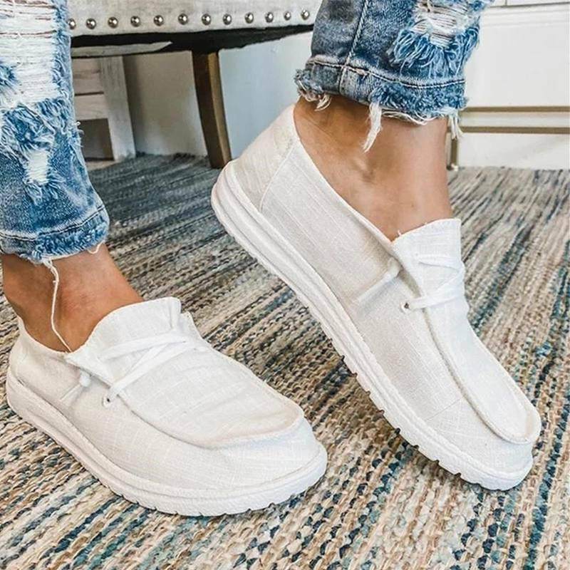 Women's Loafers On Flat Casual Comfy Sneakers