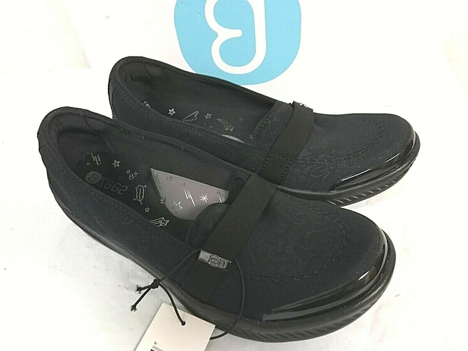 Bzees Women's Nugget Loafer - PICK - Black Tonal 0T_20