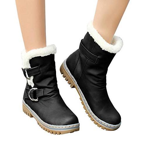 women s snow boots ladies classics buckle