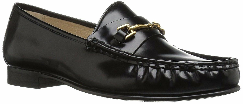 Sam Edelman Women's Talia Slip-on Loafer, Black Box Leather,