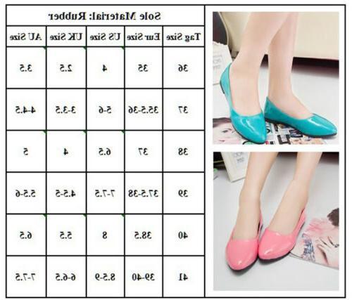 Women Pumps Ballet Dolly Shoes Slip Size
