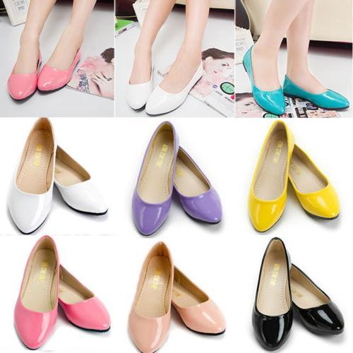 Ballet Dolly Dress Shoes Slip Size