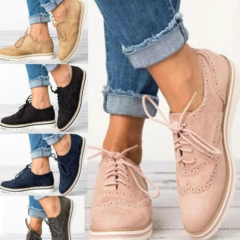 Womens Ladies Boots Platform Casual Shoes