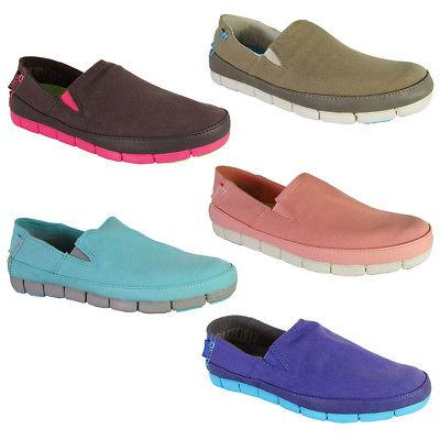 womens stretch sole slip on loafer shoes