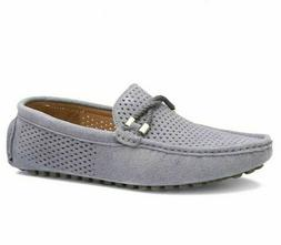 Leather Men Shoes Casual Soft Breathable Flats Suede Loafers