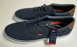Levis Men's Shoes Canvas Tennis Size 13 New Comfort Career W