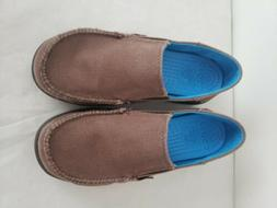 Crocs Loafer Espresso Brown  US Sz Junior 3