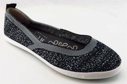 Blowfish Loafers Gray Fabric Women Shoes Size 7 Medium