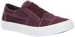 Blowfish Women's Marley Deep Plum Colorwashed Canvas 11 M US