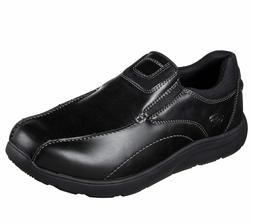 Memory Foam Skechers shoes Black Men's Dress Casual Comfort