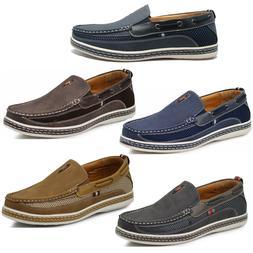Men Brixton Boat Shoes Driving Moccasins Slip On Loafers Siz
