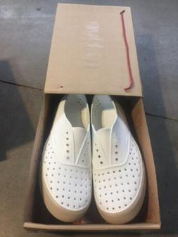 Men Native Pump Loafers Shoes Miller   Shell White SZ:13 M N