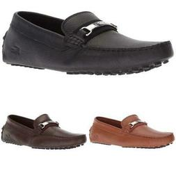 Men's Lacoste Ansted 318 1 U Loafers Leather Slip on Drivers
