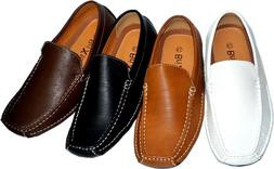 Men's  Casual Leather Moccasins Loafer Slip On Driving Comfo