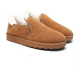 Men's Comfort Casual Daily Plush Lining Slip-on Walking Loaf
