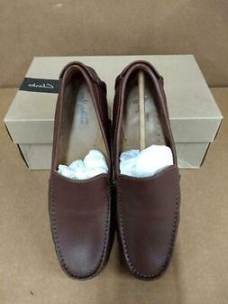 Clarks Men's Hamilton Free Driving Style Loafer, Cognac Leat