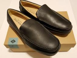 Sperry Men's Hampden Venetian Slip-On Loafer, Black, 8.5 M