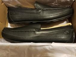 Sperry Men's Hampden Venetian Slip-On Loafer, Black, 7.5 Med