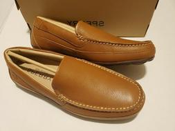 Sperry Men's Hampden Venetian Slip-On Loafer, SAHARA TAN, 7