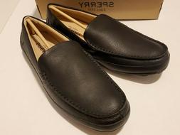 Sperry Men's Hampden Venetian Slip-On Loafer, Black, 11 M