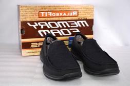 Men's Skechers Harper-Moven Slip-On Loafers Black