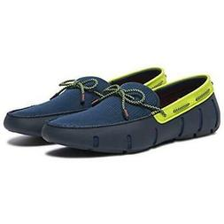 Swims Men's Lace Loafers Driving Moccasin Loafer Shoes Navy/