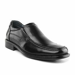 BRUNO MARC Mens GOLDMAN-02 Leather Lined Square Toe Loafers