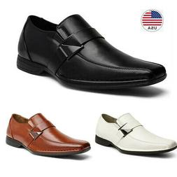 men s loafers shoes classic square toe