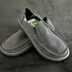Sanuk Men's Loafers Sidewalk Surfer Slip-on Canvas Shoes - G