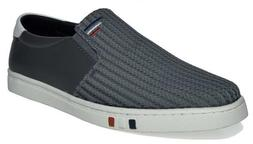 BRUNO MARC NEW YORK Men's NY-02 Grey Penny Loafers Fashion S