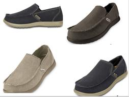 Men's CROCS Original  Santa Cruz  KHAKI , GRAY,  BLACK  Canv