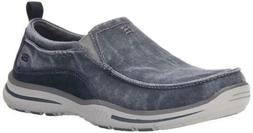 Skechers Men's Relaxed Fit Elected Drigo Slip-On Canvas Loaf