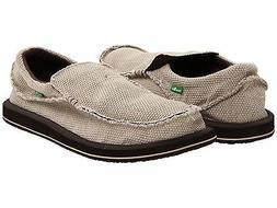 Men's Shoes Sanuk CHIBA Slip On Sidewalk Surfers Loafers SMF