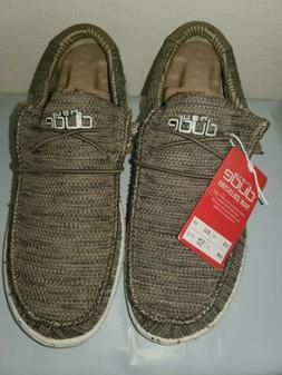 Hey Dude Men's Wally Sox Brown Shoes 110351500 sz Us 10