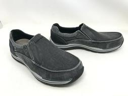 Mens SkechersRelaxed Fit Expected Avillo Black Extra Wide Lo