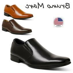 BRUNO MARC Mens Formal Business Dress Shoes Slip On Loafers